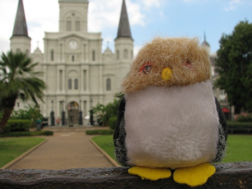 MBO in Jackson Square, New Orleans